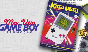 Imagem: Revista Jogo Véio Nº 7 trás nostalgia e os trinta anos do Game Boy!